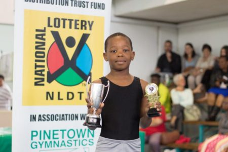 Barry Swain Cup – (L2) Gymnast - Winner :Bandile Mncube – 1st Place L2 @ Central Zone Festival