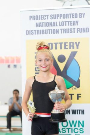 Samantha Coetser Trophy – Level 3 - Winner : Jordan Trotter Total : 36.05 (Zone Festival)