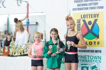 Zoudendyk Trophy – Best Beam – Winners (tie !) :Anjane Terbanche (L2) Ave: 9.3 Jordan Trotter (L3) Ave:9.3 Raegan Brourd (L2)Ave: 9.3