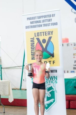 Robbyn Liddle Girls Trophy – Floor Trophy - Winner : Carla Franz (L7) Ave: 9.1 and Michaela Scruton (L1) Ave : 9.1 (Provincial)